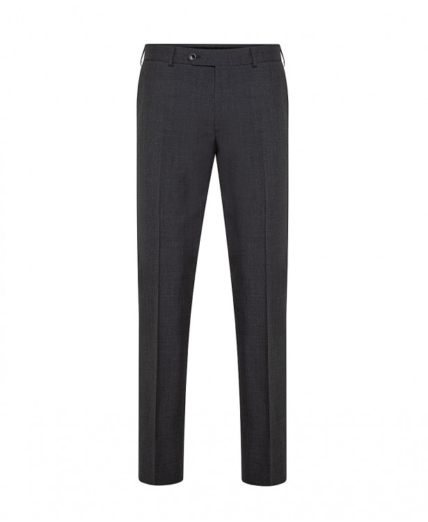 Grey Super 120s wool spring trousers