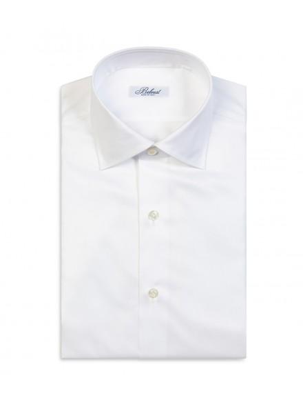 White pure cotton spring shirt