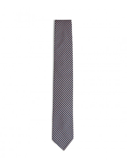 Cravatta elegante rosa e...