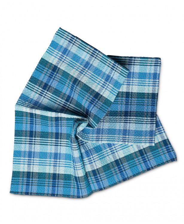 Pochette primaverile azzurra e blu in...