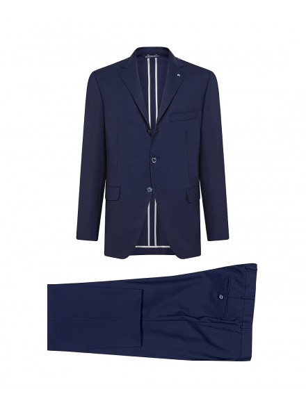 Blue wool tailored suit |...