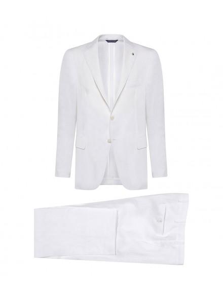 White linen summer suit |...