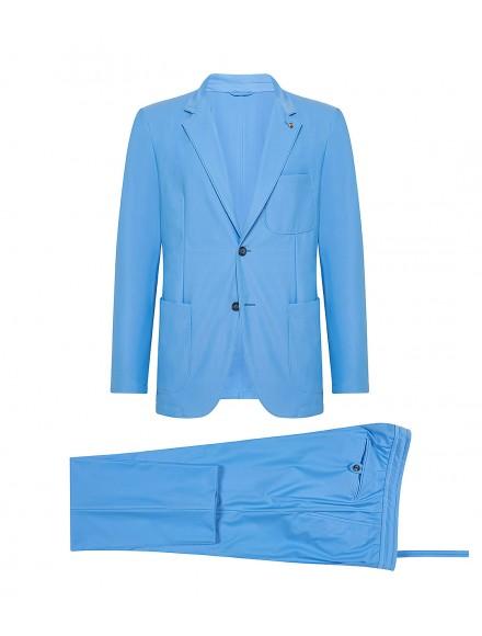 Sporty light blue...