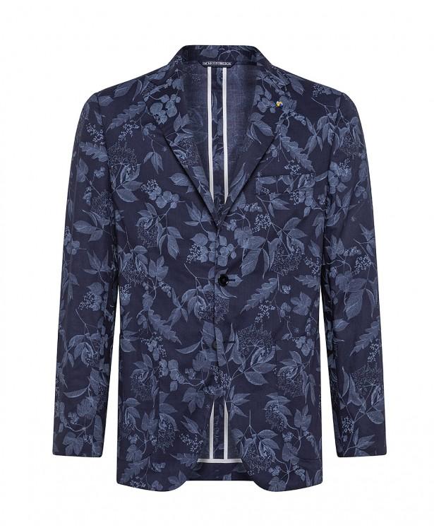Blue cotton summer jacket  ...