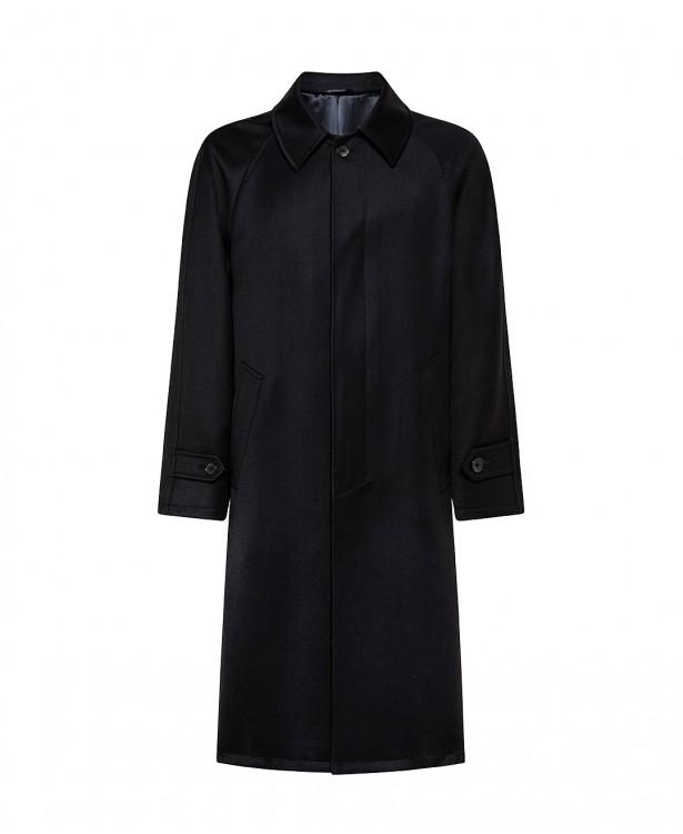 Cavalry blue coat in fine wool