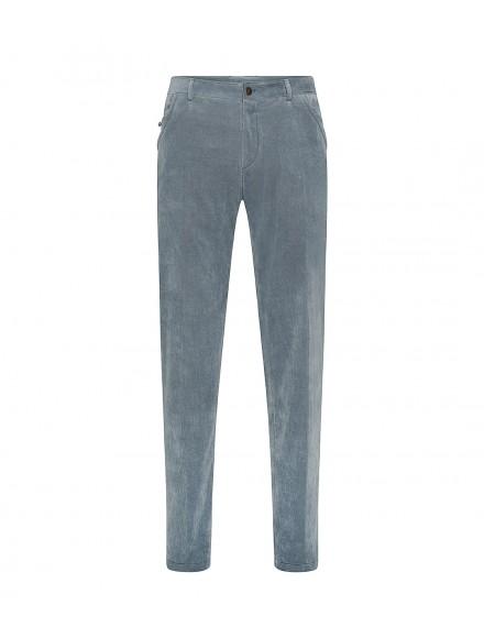Powder blue corduroy trousers