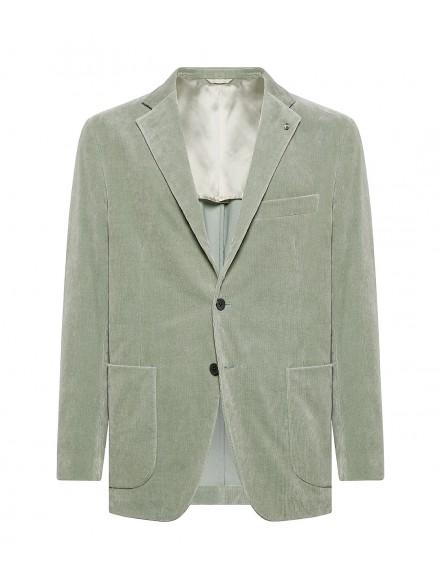 Mint green jacket in...
