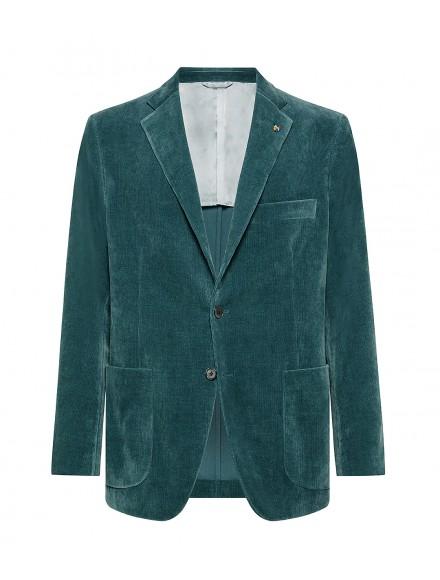 Bottle green jacket in...