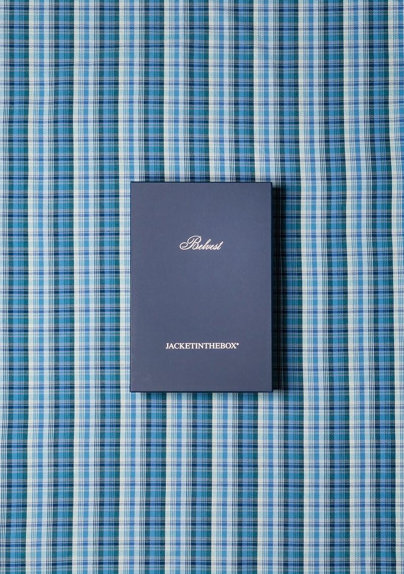 "The destructured jacket ""Jacket in the box"" (Jacketinthebox ©)"